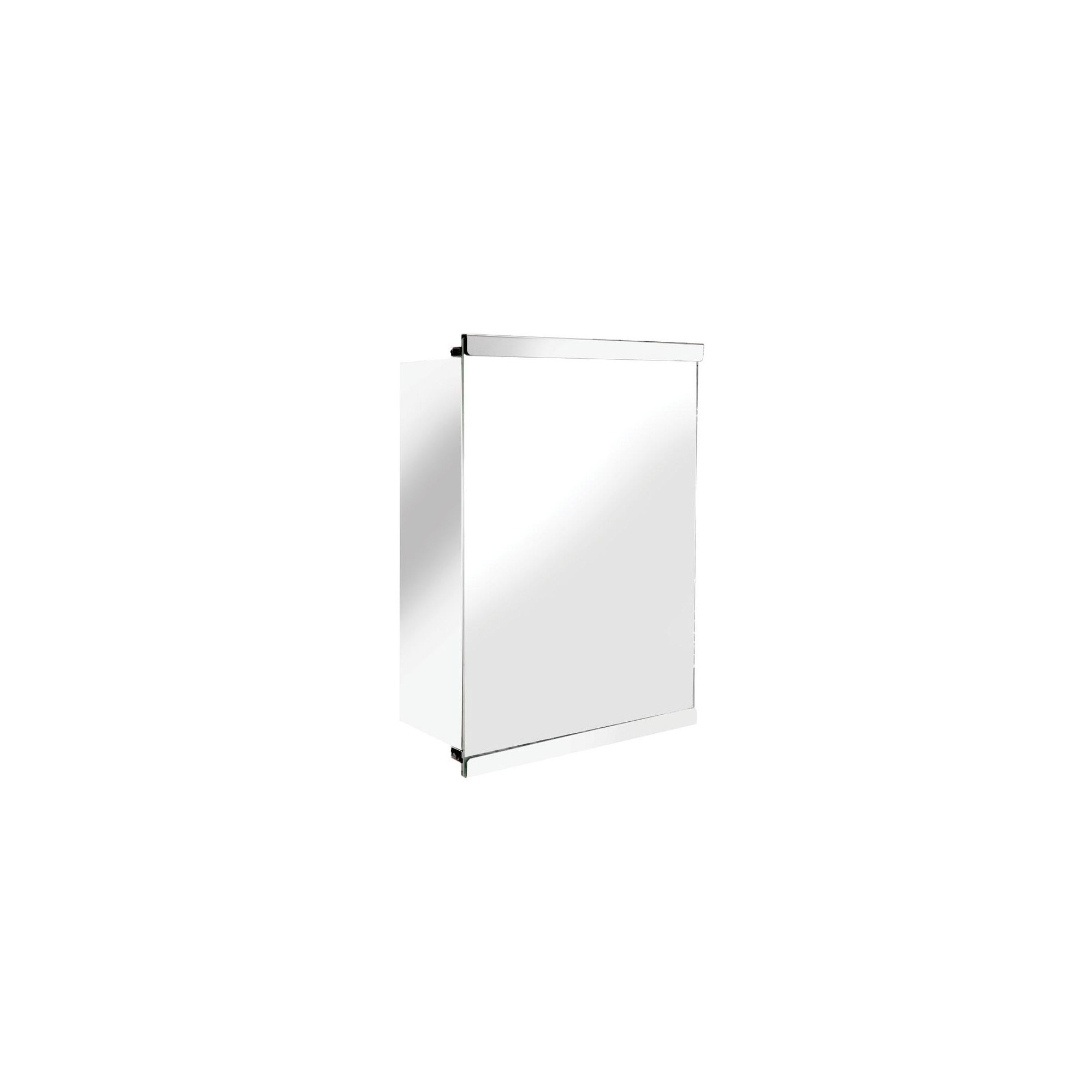 Croydex Tara Single Sliding Door Stainless Steel Cabinet