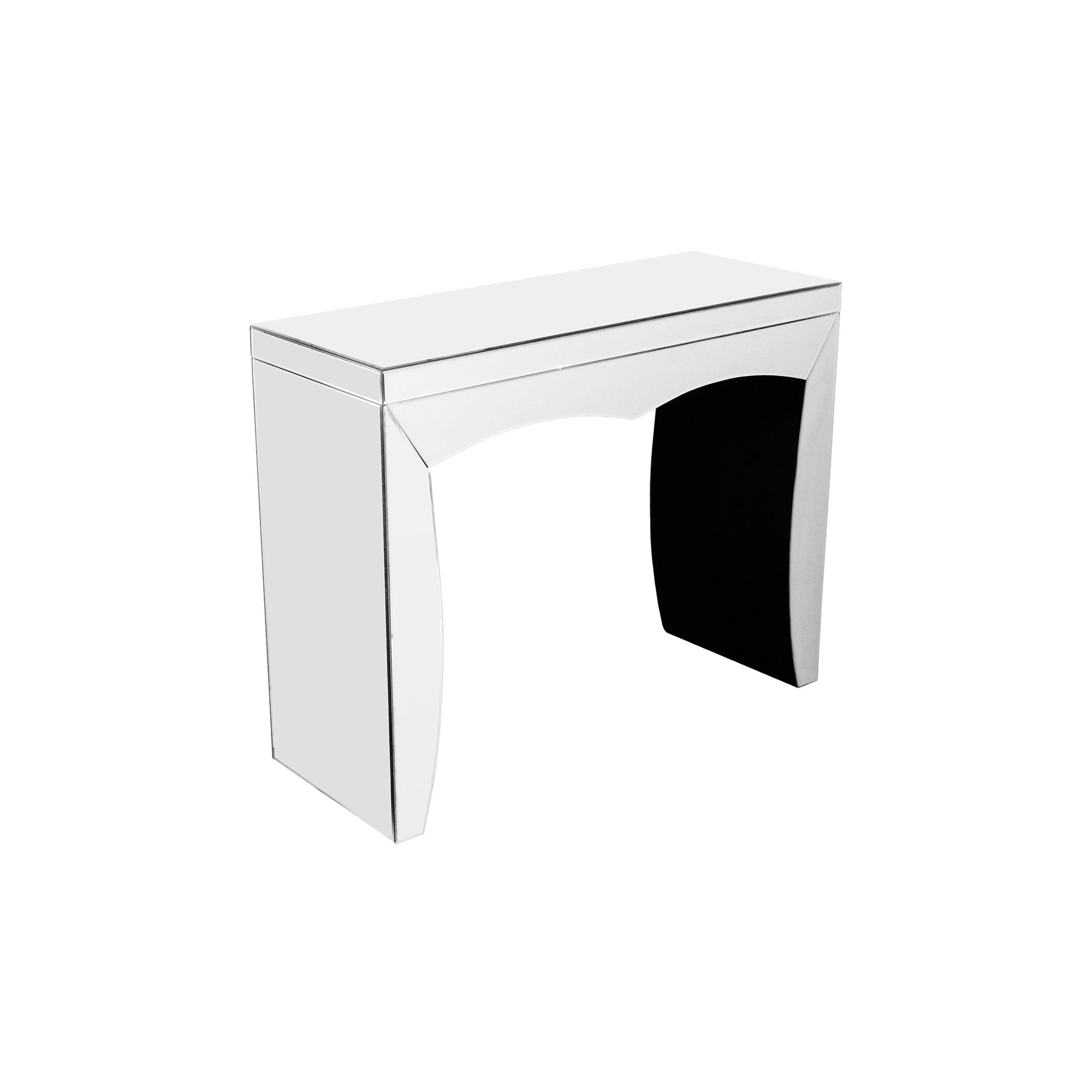 Home Essence Mirrored Console Table at Tesco Direct