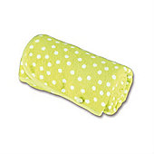 Baby Boum Youmi Terry Blanket 100 x 150cm (Lime Spotty)