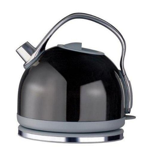 Meyer Prestige 42335 1.5 Litre Deco Cordless Traditional Kettle Black