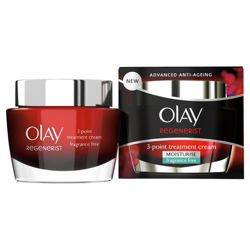 Olay Regenerist Daily 3 Point Treatment Cream SPF30 50Ml