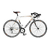 56cm Viking Vuelta STI 14 Speed 700c Wheel Gents, White/Black