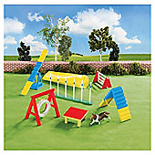 Breyer Playful Puppies Dog Agility Playset