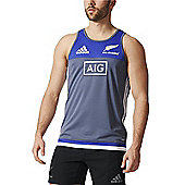 adidas New Zealand All Blacks Singlet / Vest 2016 - Onix - Grey