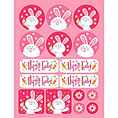 Easter Party Sticker Sheets (4pk)