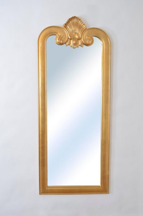 Buy large gold baroque style new leaner wall mirror 5ft8 x for Plastic baroque mirror