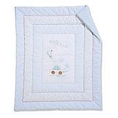 Mothercare Little Beep Beep Cot/Cot Bed Quilt