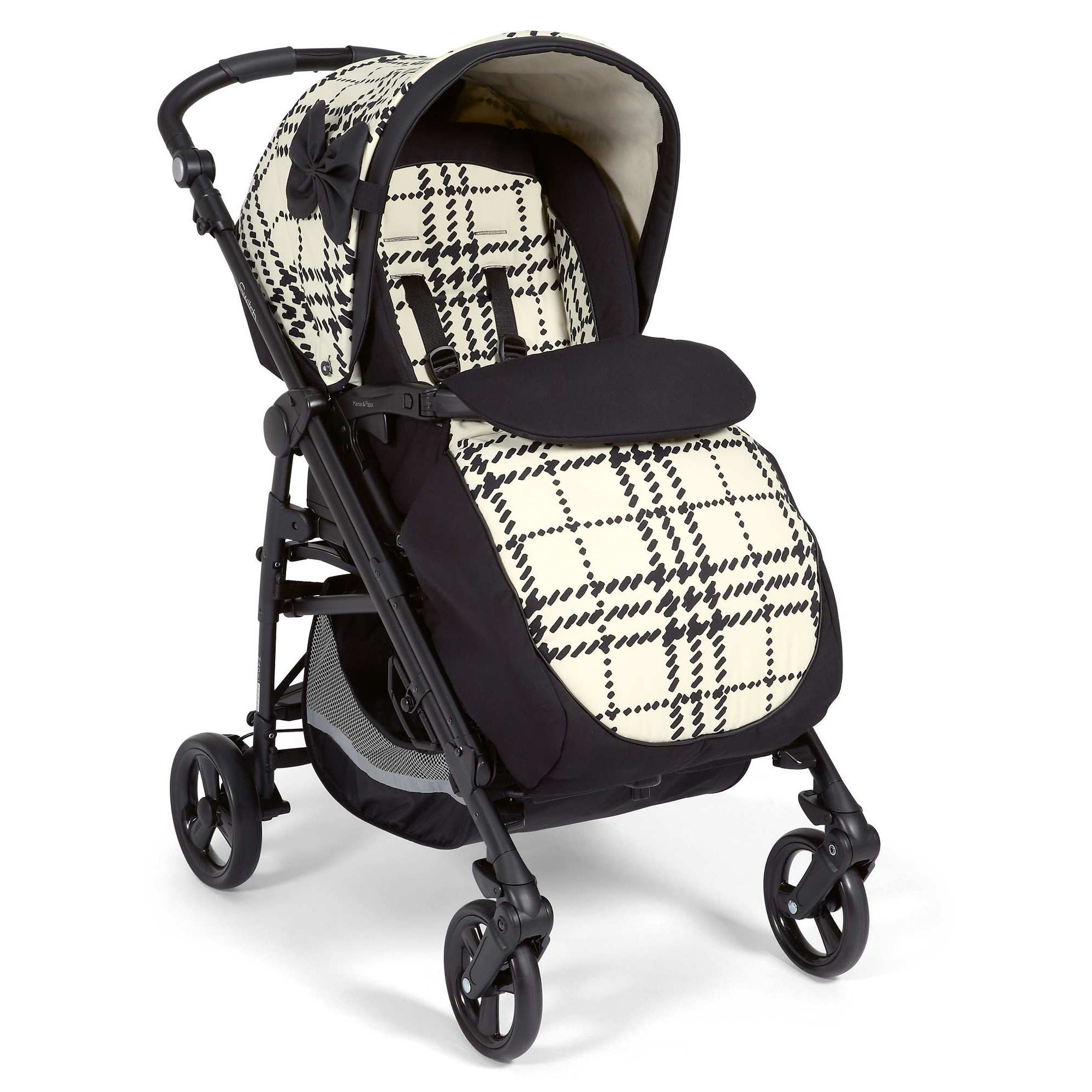 Mamas & Papas - Switch Pushchair - Harper Check at Tesco Direct
