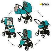 Hauck Lacrosse All-In-One Pushchair, Everglade
