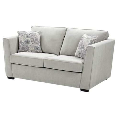 Buy oxley sofa bed light grey from our sofa beds range for Sofa bed tesco