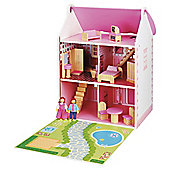 Carousel Wooden Dolls House