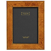 Addison Ross Marquetry Photo Frame with Double Check Fibre Back - 4 in x 6 in