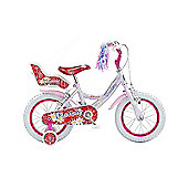 "Claud Butler CBR Daisy Kids' 14"" Wheel Junior Bike"