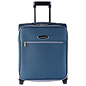 Constellation Guaranteed On Board 2-Wheel Teal with Grey Trim Suitcase