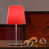 FontanaArte 3247TA Table Lamp - 46cm H x 20cm W x 20cm D - Red