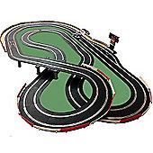 Scalextric Digital Set Sl73 Jadlamracing Layout 8X4 Pit Lane Game C7042 & 4 Cars