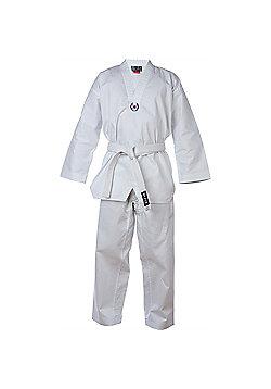 Blitz - Kids Polycotton Taekwondo Suit - White