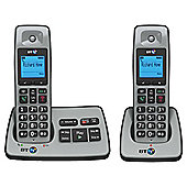 BT 2500 Twin Cordless Telephone , Silver