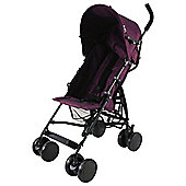 Redkite Push me 2 U Pushchair, Plum
