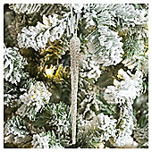 Weiste Glass Icicle Christmas Tree Decoration