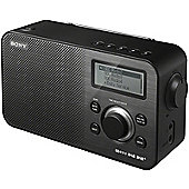 SONY XDRS60DBP DAB/FM PORTABLE RADIO (BLACK)