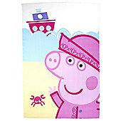 Peppa Pig Fleece Blanket, Nautical