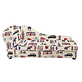 Children's Chaise Longue - London