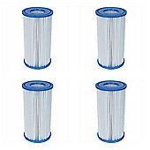 "Bestway Filter Cartridge III (4.2"" x 8"") 4x Pack"