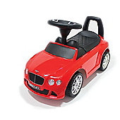 Push Along Ride On Car - Bentley Licensed - Red