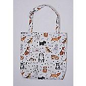 Roy Kirkham PVC Coated Cotton Shopping Bag, Dogs
