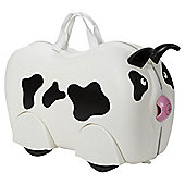 Kiddee Case Kid's Ride On Suitcase, Cow
