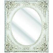 D & J Simons Dutch Mirror - Ivory - 111cm H x 80.5cm W