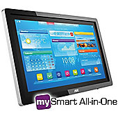 Aoc a2472Pw4t/BK Smart All in One 24 Touch Screen Monitor Resolution 1920x1080 5ms Response Time HDMI / D-Sub Speakers Touch Screen 3 Year Warranty