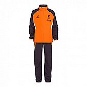 2012-13 Liverpool Warrior Presentation Tracksuit (Orange) - Orange