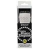 WowThem Mighty Music Engine Bluetooth Speaker Black/White