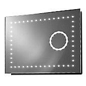 Vision Shaver 3X Magnification LED Bathroom Mirror With Demister & Sensor k102