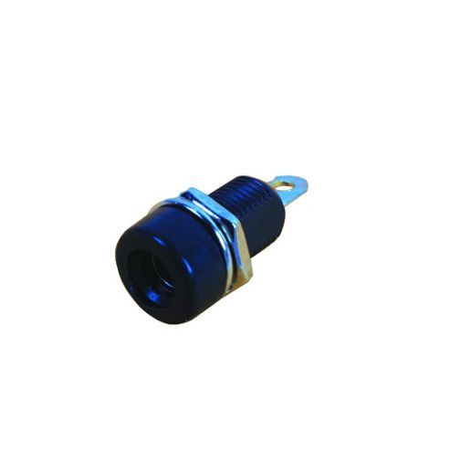 4mm Socket Black
