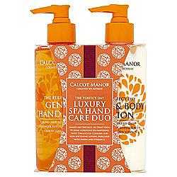 Calcot Manor Hand & Body Wash and Lotion Duo Gift