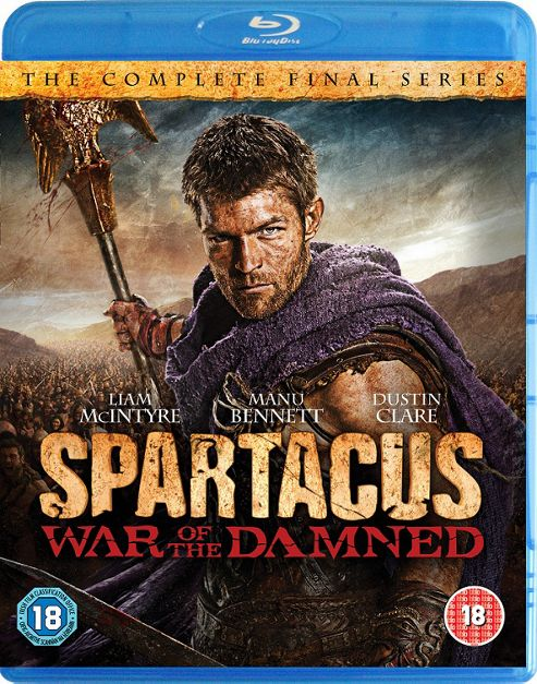 Spartacus - War Of The Dammed (Blu-Ray Boxset)