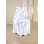 Leipold Sweety Full Length Drape Crib in Blue