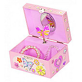 Children's Musical Butterfly Jewellery Box