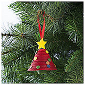 Tesco 3D Tree Hanging Decoration
