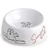 Sharples N Grant Simon's Cat Bowl