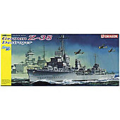 Smart Kit - German Z-38 Destroyer 1:350 Plastic Kit - Dragon