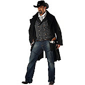 Gun Fighter Cowboy Costume (Plus Size)