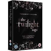 The Twilight Saga: The Complete Collection (DVD Boxset)