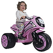 Injusa Trimoto Hello Kitty Motorbike Battery Operated Ride-On