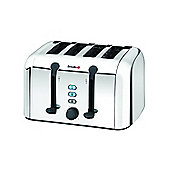 VTT252 4 Slice Toaster with Variable Browning in Stainless Steel