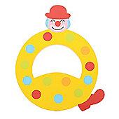 Tatiri Crazy Clown Letter Q ((Yellow) Spots)
