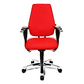 Topstar Sitness 30 Swivel Chair - Red